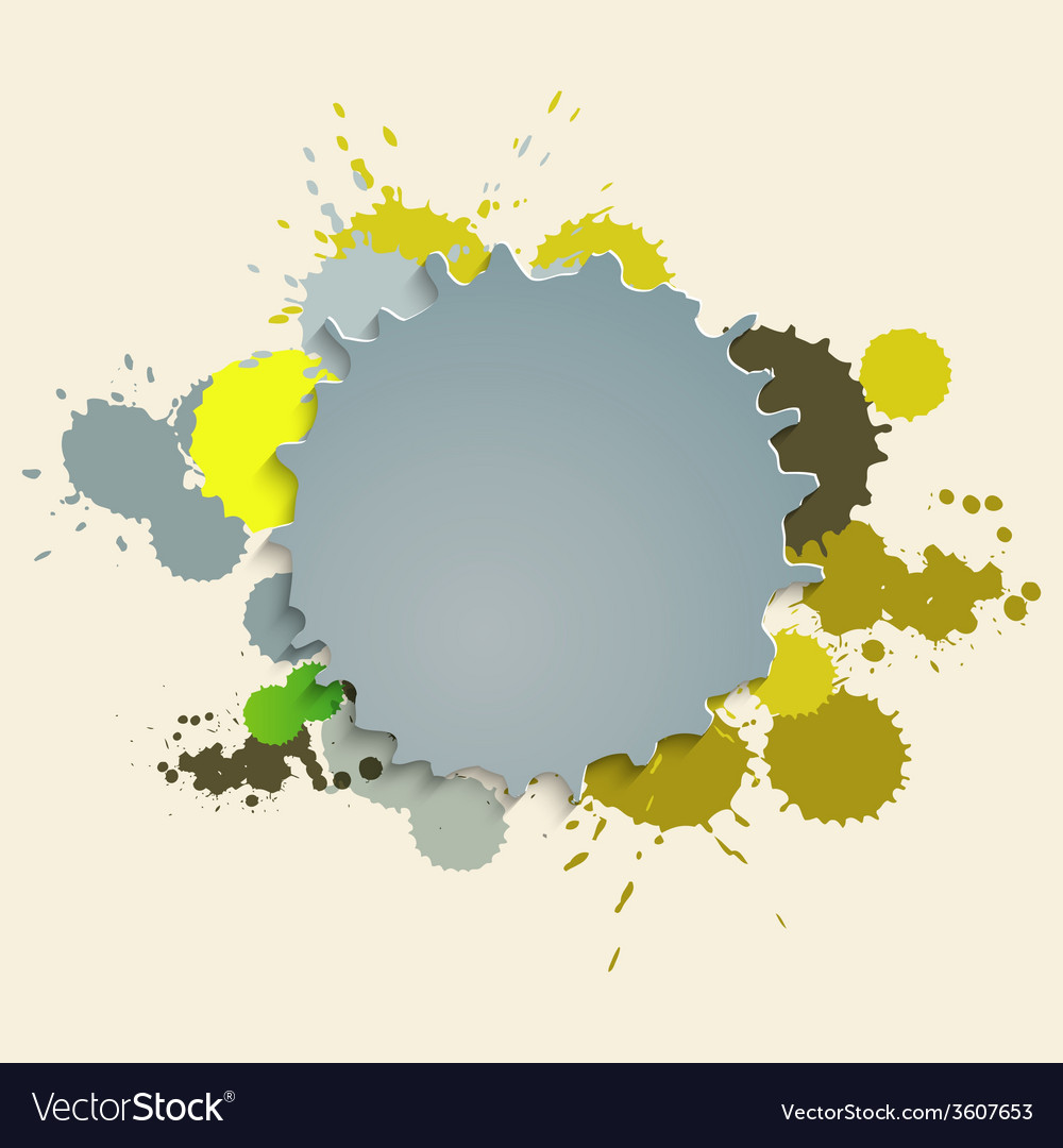 Paint stains vector   Price: 1 Credit (USD $1)
