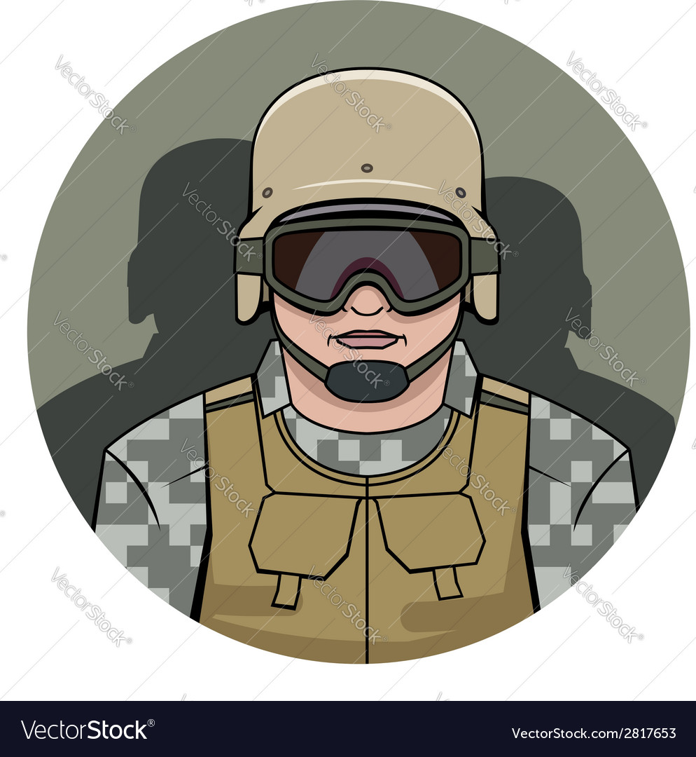 Swat policeman vector | Price: 1 Credit (USD $1)