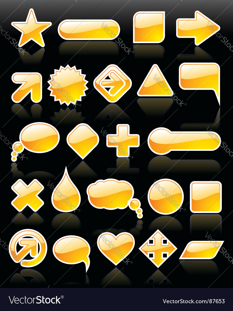 Web shapes vector | Price: 1 Credit (USD $1)