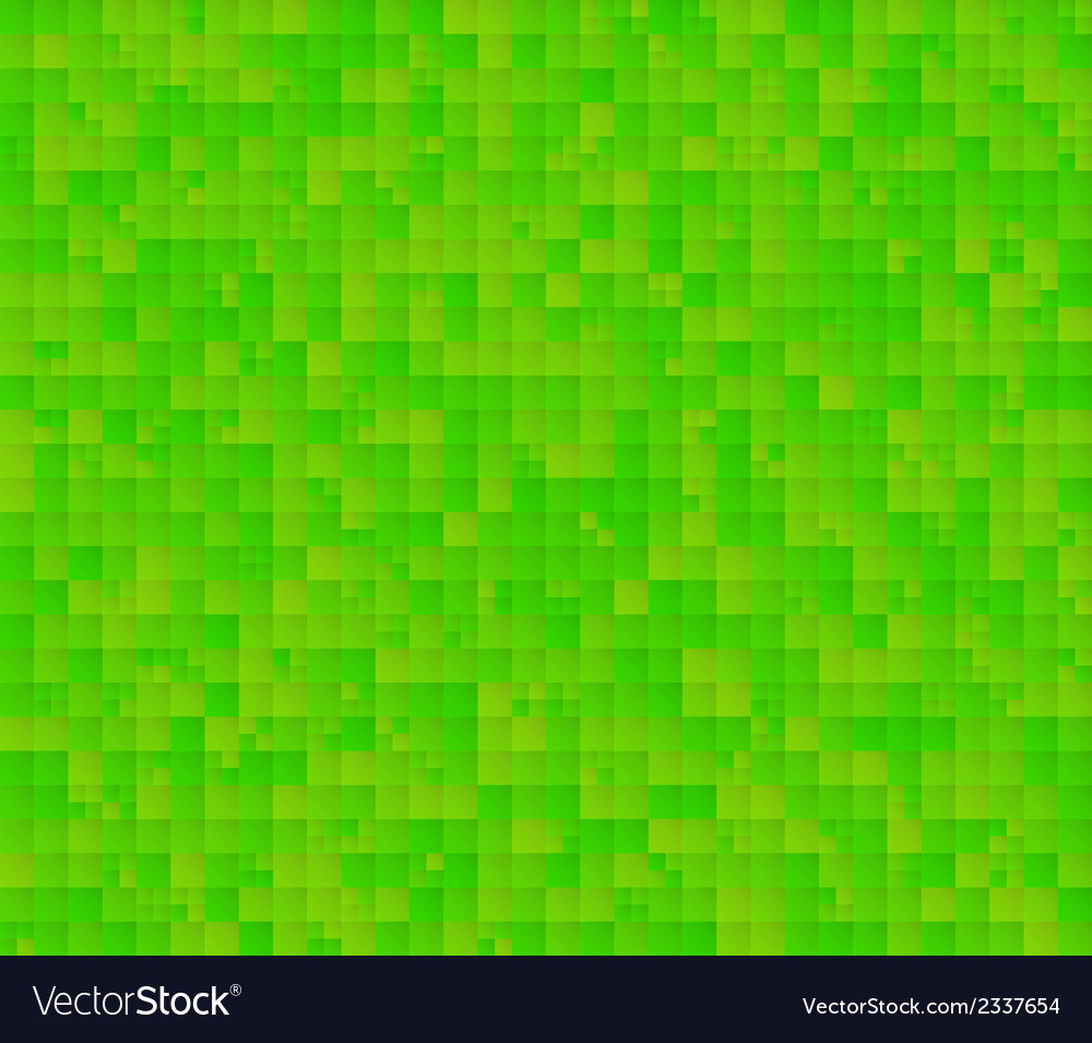 Abstract green background with squares vector | Price: 1 Credit (USD $1)