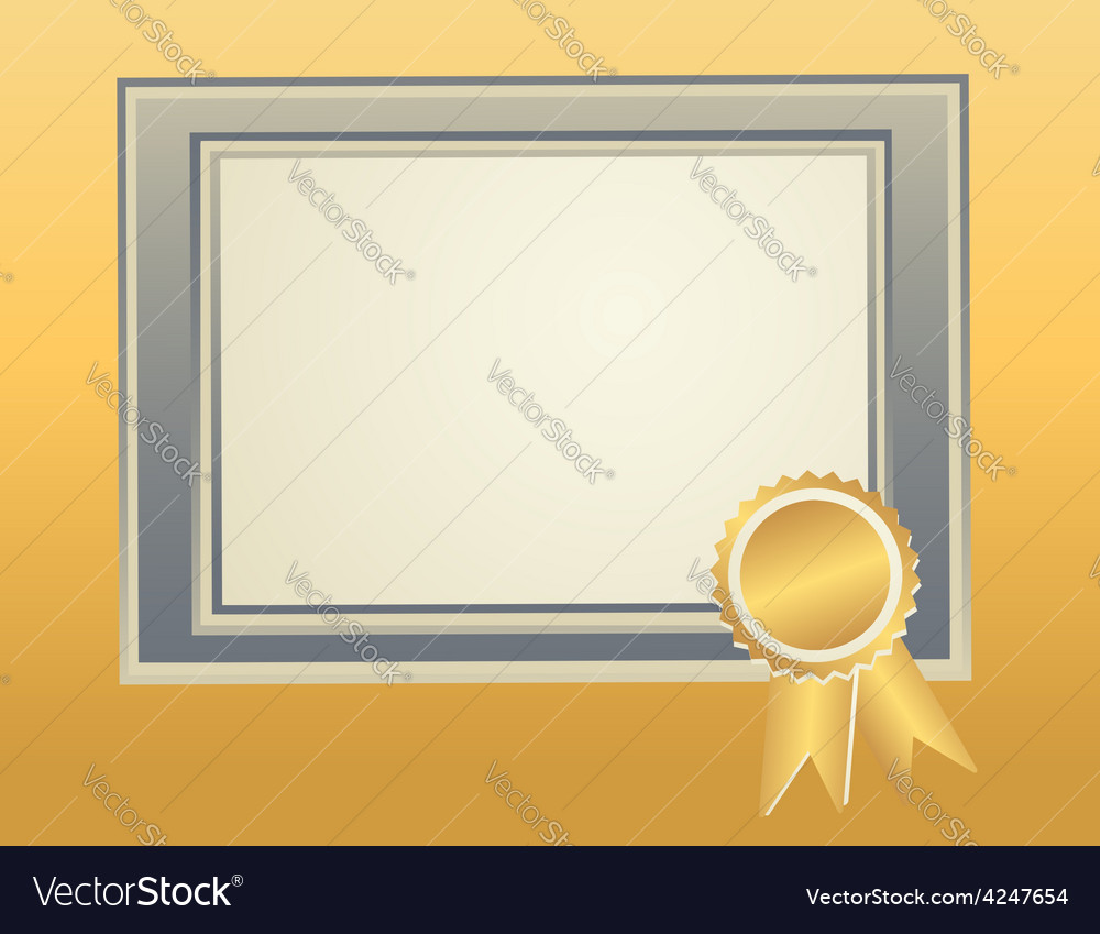 Border frame template vector | Price: 1 Credit (USD $1)