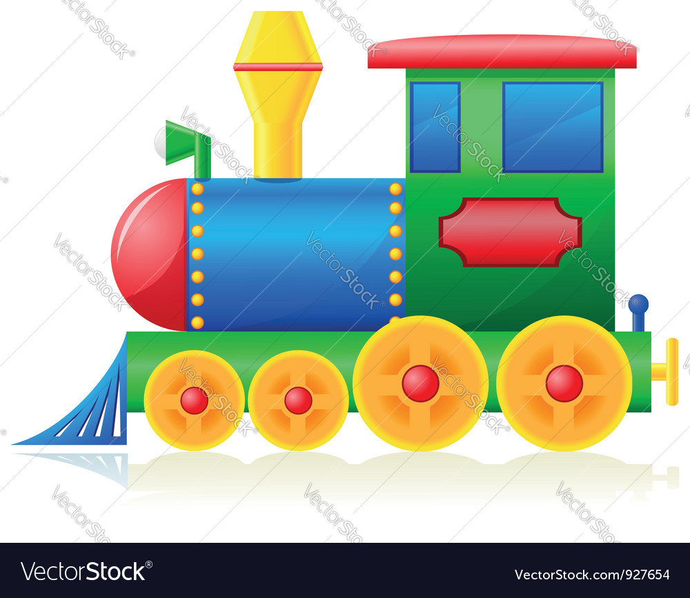 Children locomotive vector | Price: 3 Credit (USD $3)