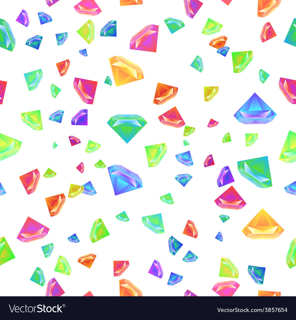 Gemstone seamless pattern for presentation vector | Price: 1 Credit (USD $1)