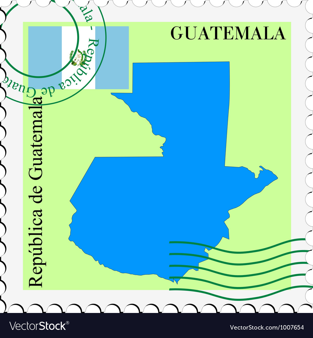 Mail to-from guatemala vector | Price: 1 Credit (USD $1)