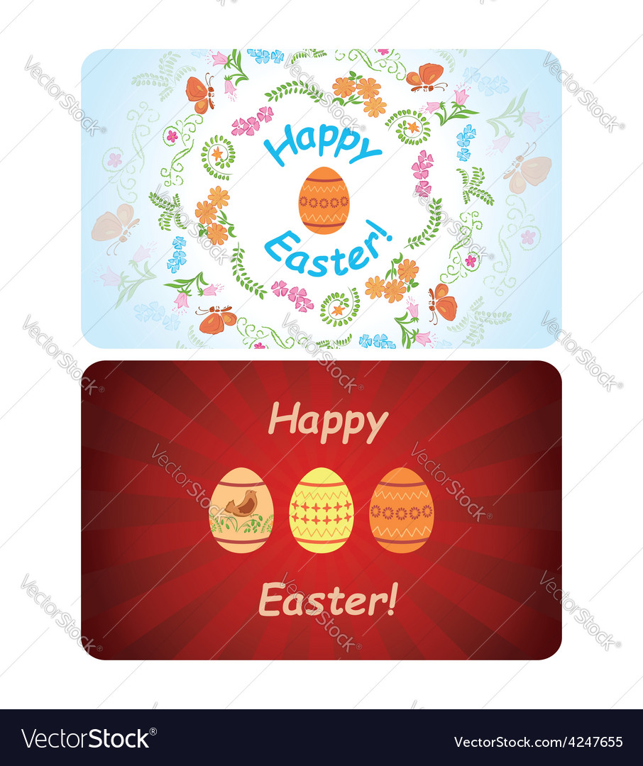 Backgrounds  happy easter vector