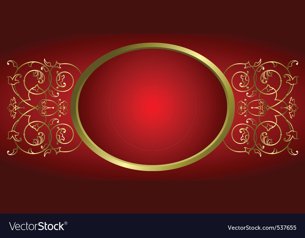 Decorative ornament frame vector | Price: 1 Credit (USD $1)
