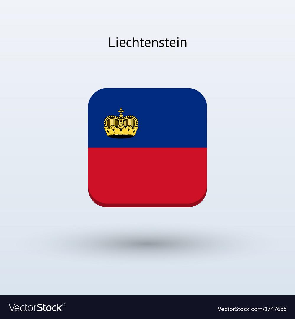Liechtenstein flag icon vector | Price: 1 Credit (USD $1)