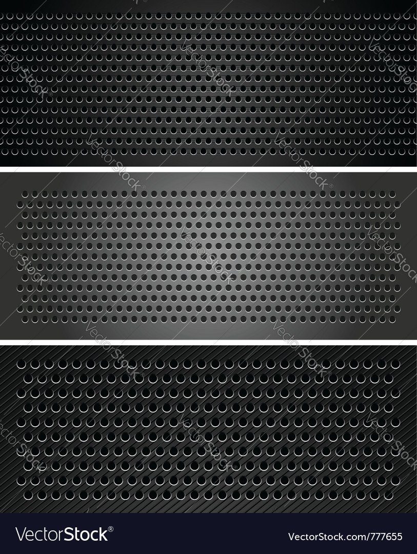 Metallic perforated sheet vector | Price: 1 Credit (USD $1)