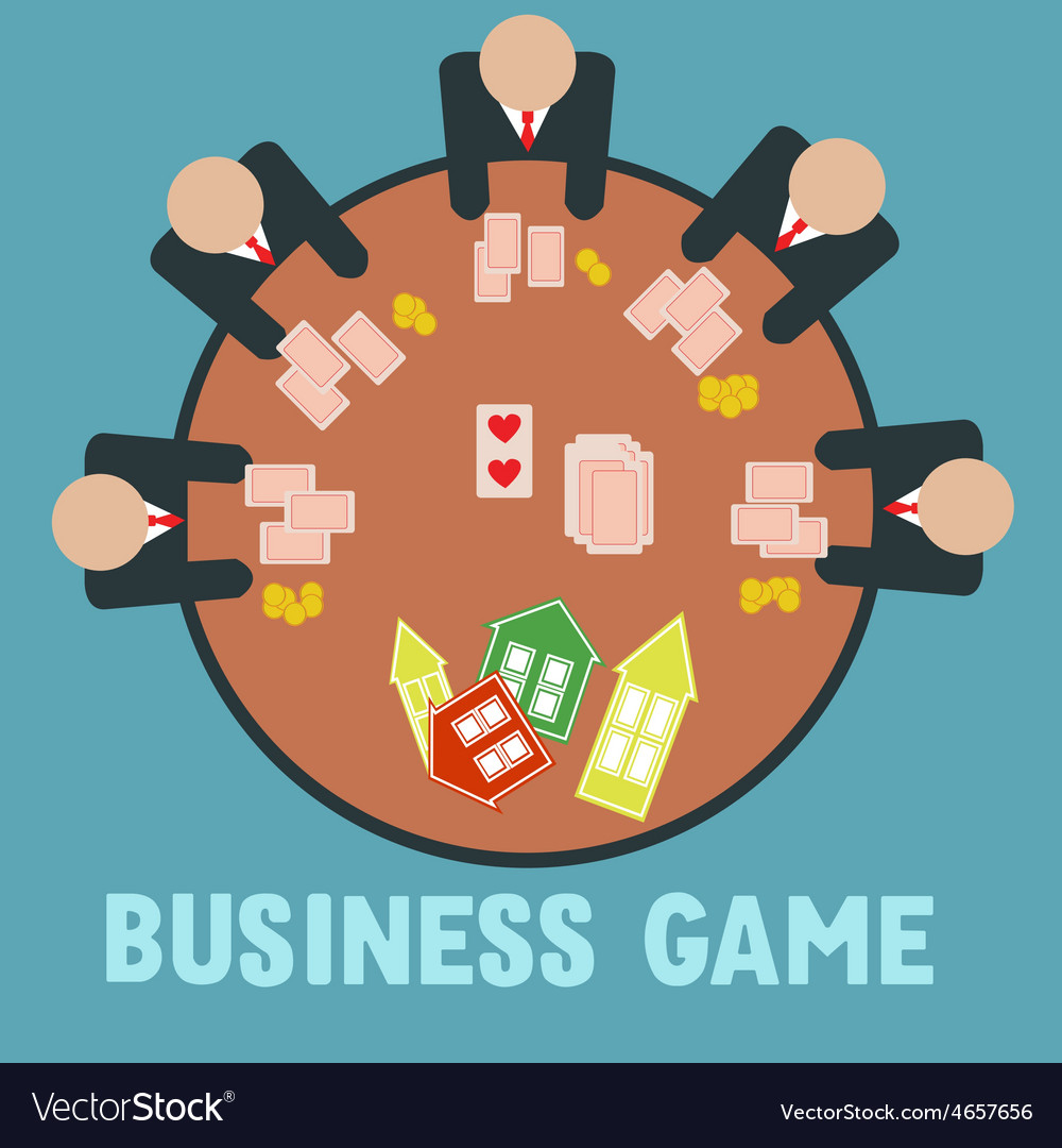 Business game vector | Price: 1 Credit (USD $1)