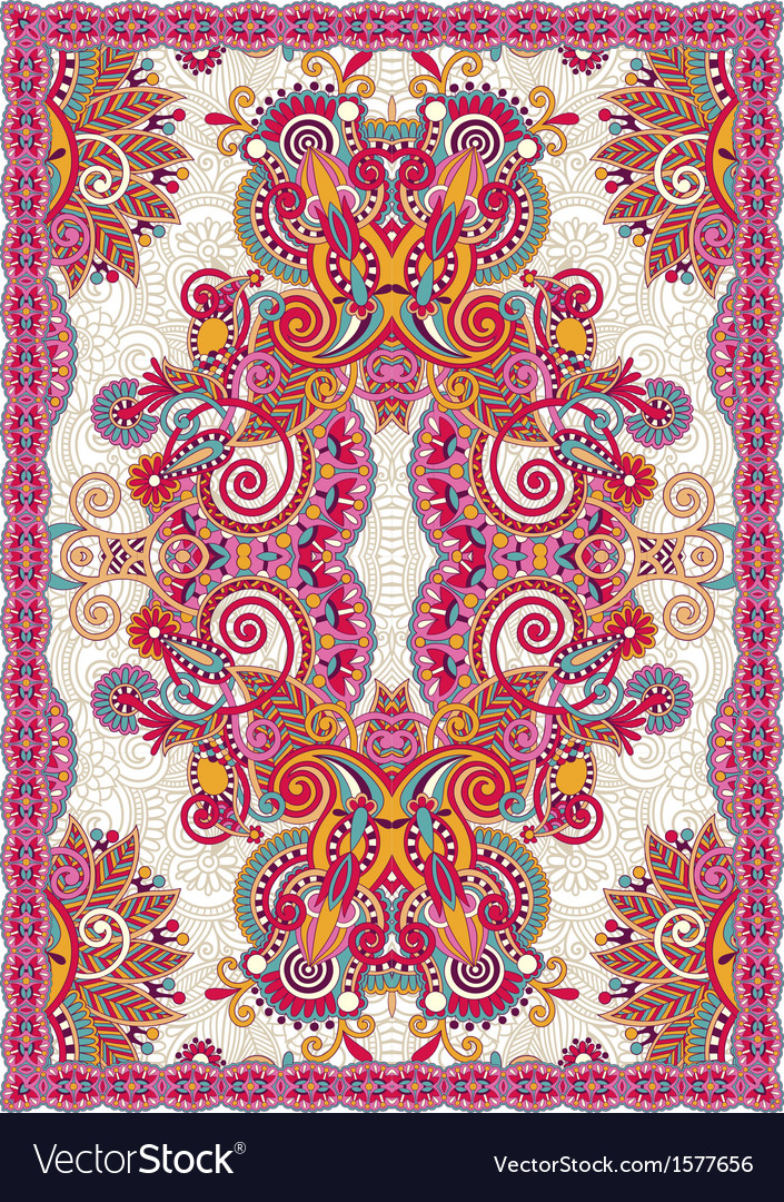 Carpet desig vector | Price: 1 Credit (USD $1)