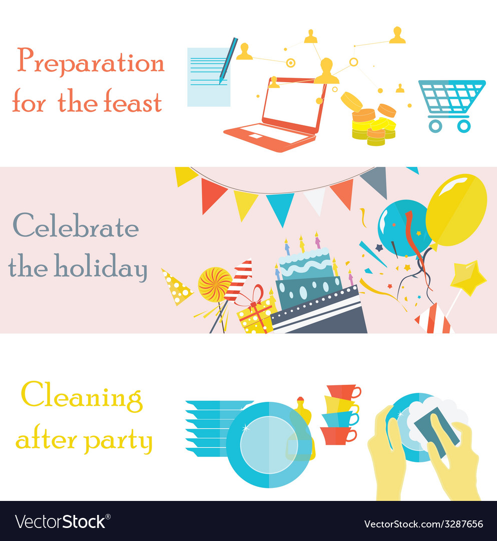 Holiday pictures vector