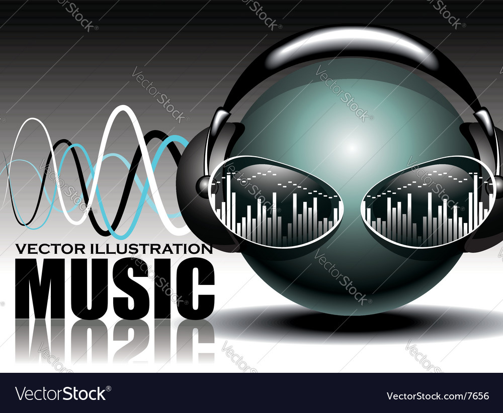 Music illustration vector | Price: 3 Credit (USD $3)