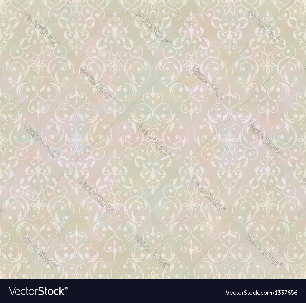 Vintage abstract classic seamless pattern vector | Price: 1 Credit (USD $1)