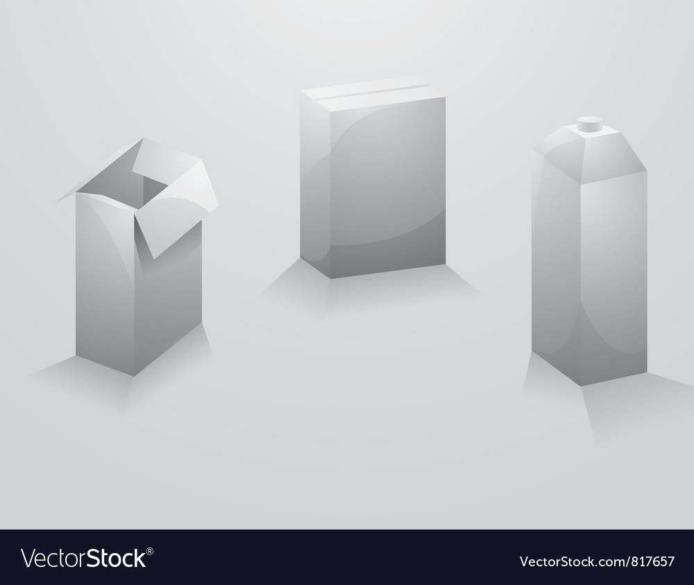 Design package boxes vector | Price: 1 Credit (USD $1)
