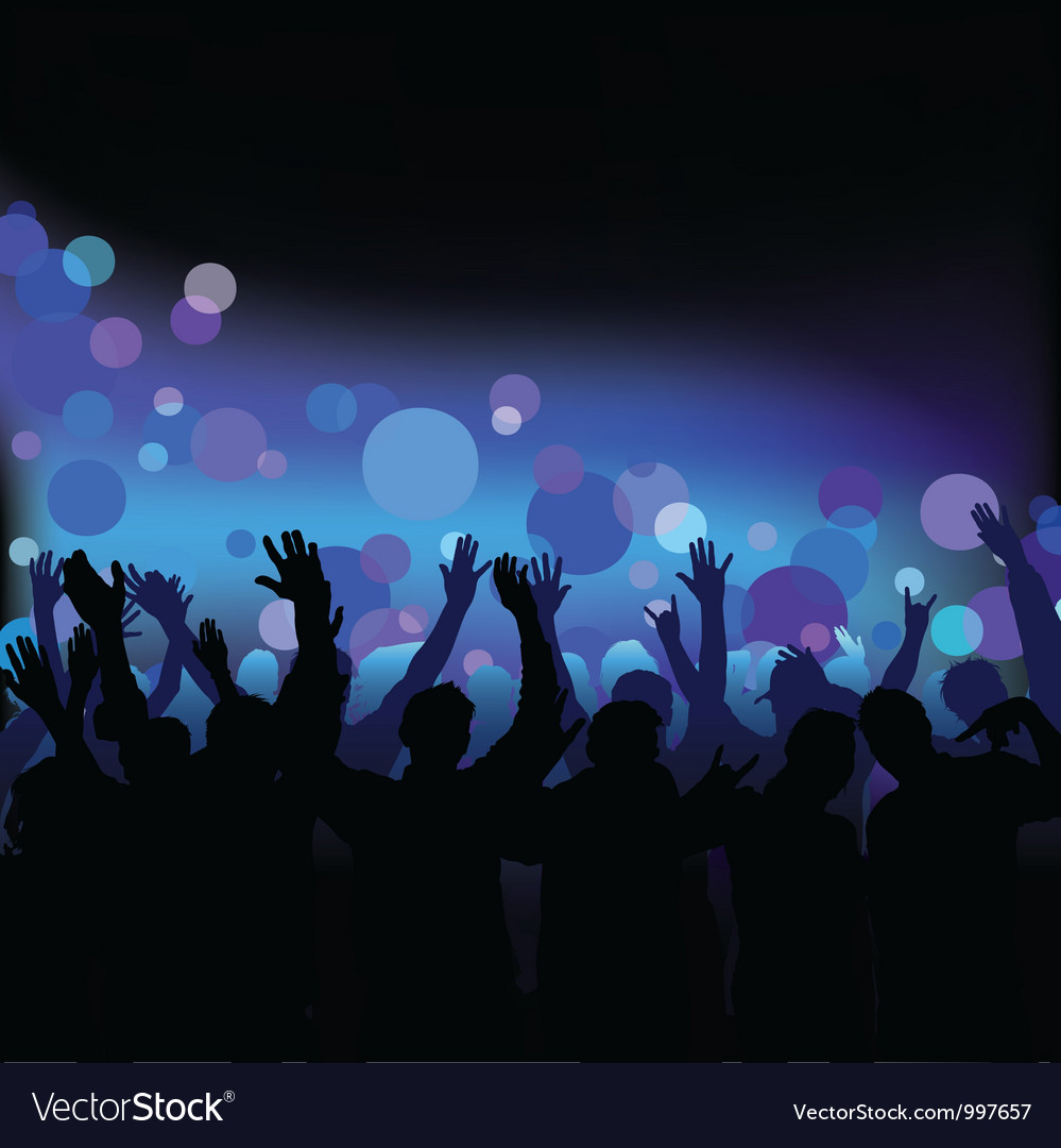 Night club life vector | Price: 1 Credit (USD $1)