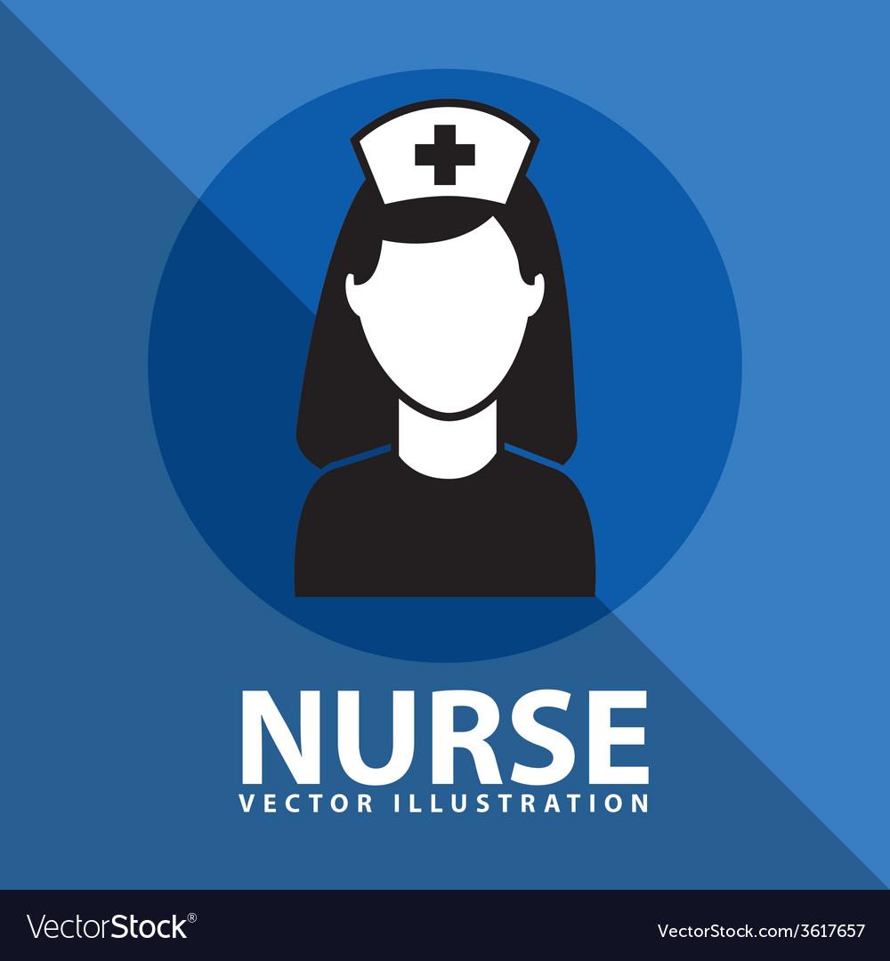 Nurse icon design vector | Price: 1 Credit (USD $1)