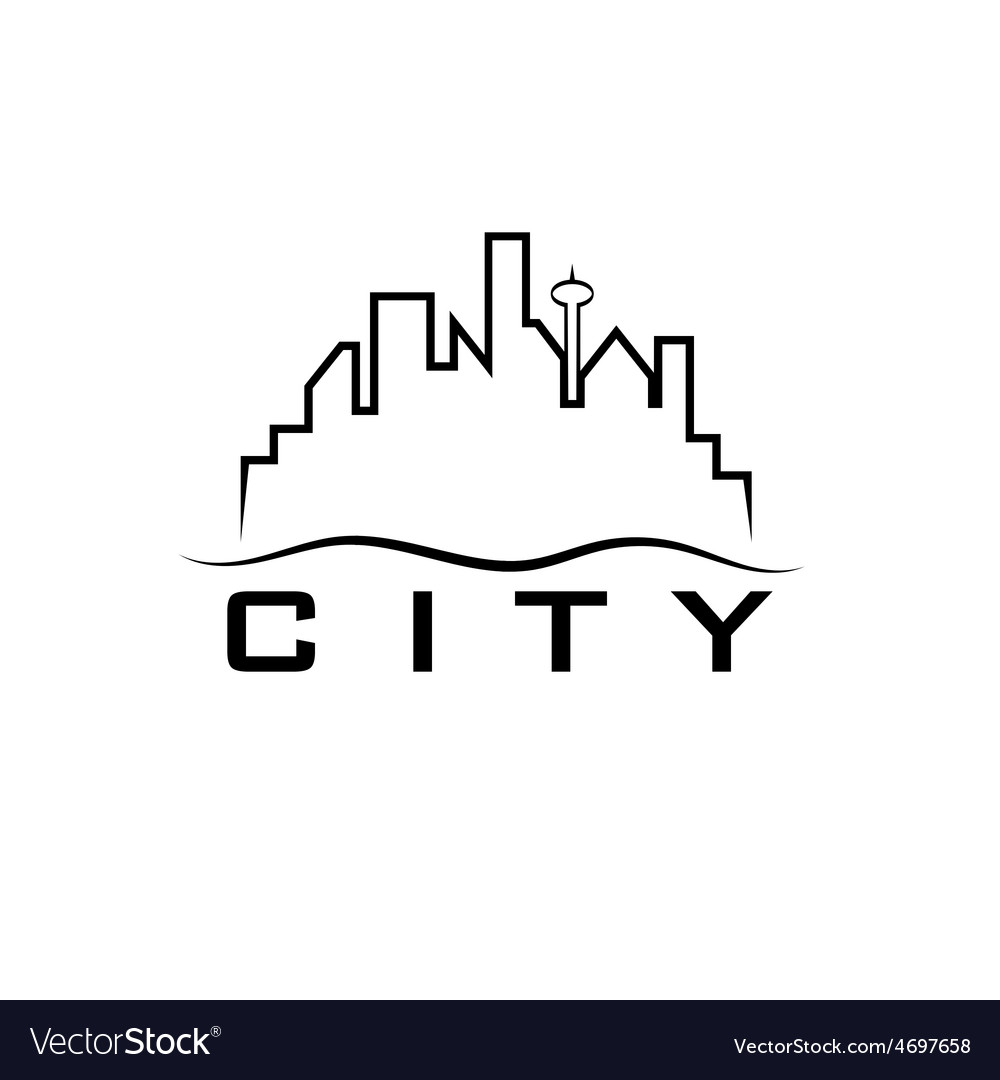 City skyline design template vector | Price: 1 Credit (USD $1)