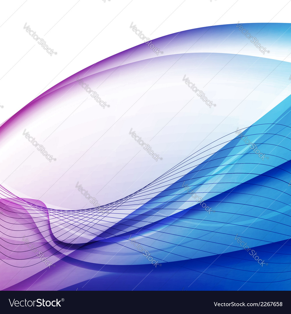 Colorful abstract swoosh lines background vector | Price: 1 Credit (USD $1)