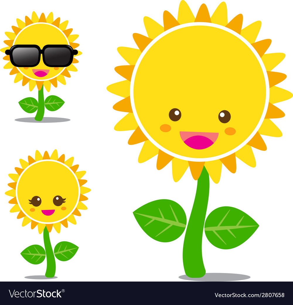 Sunflower 001 vector | Price: 1 Credit (USD $1)