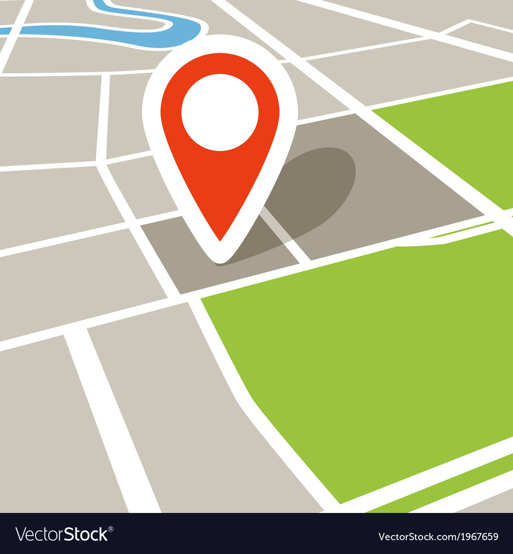Abstract city map in perspective vector   Price: 1 Credit (USD $1)