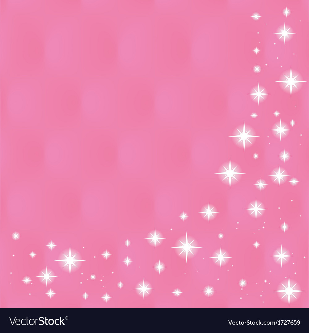 Happy valentines day greeting card on pink backg vector | Price: 1 Credit (USD $1)