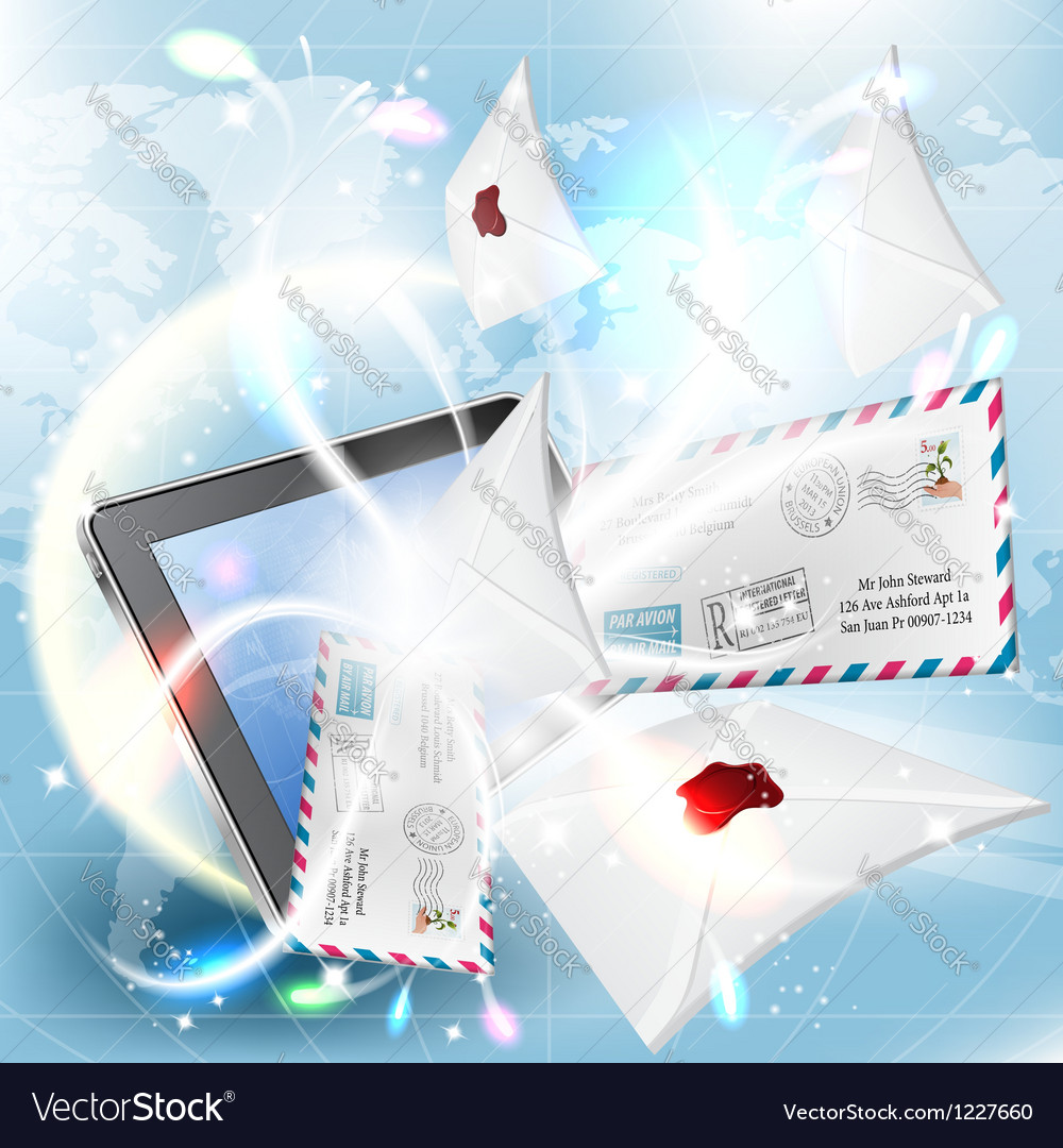 E-mail concept vector | Price: 3 Credit (USD $3)