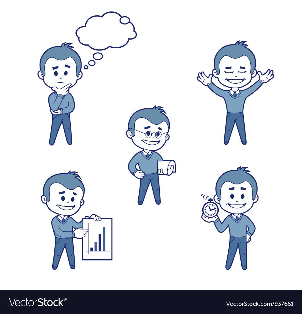 Businessman 2 vector | Price: 1 Credit (USD $1)