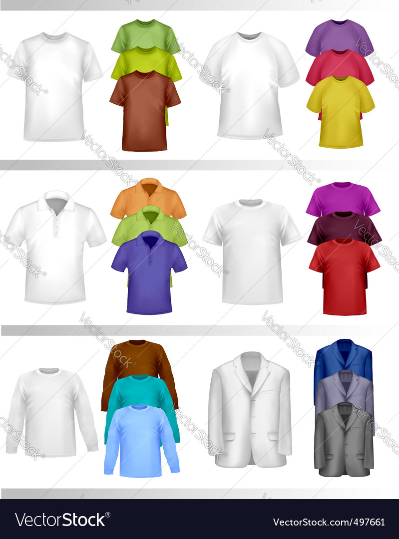 T-shirt template vector | Price: 3 Credit (USD $3)