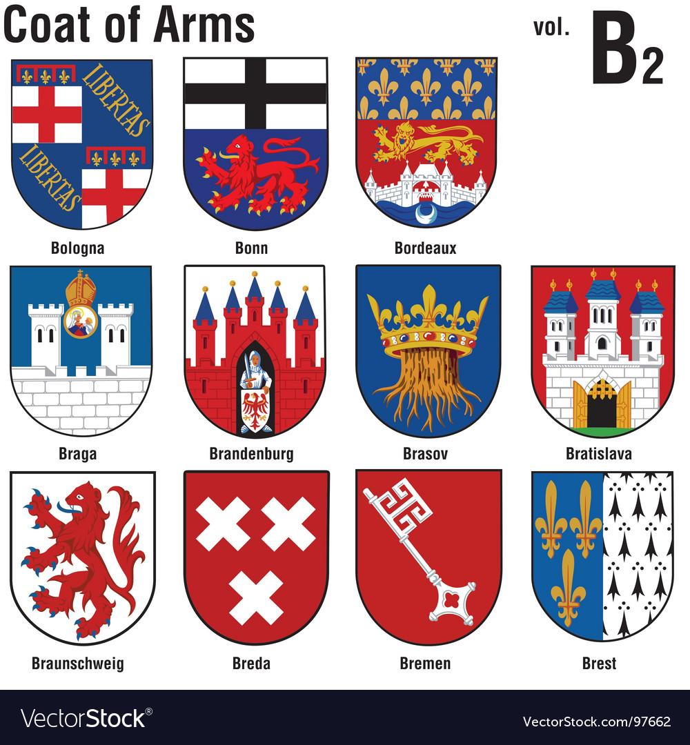 Heraldry coat of arms vector | Price: 1 Credit (USD $1)