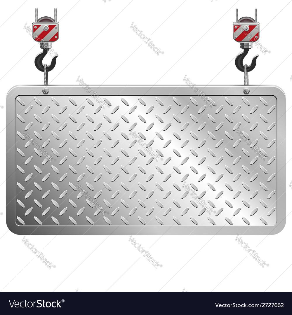 Metal board vector | Price: 1 Credit (USD $1)