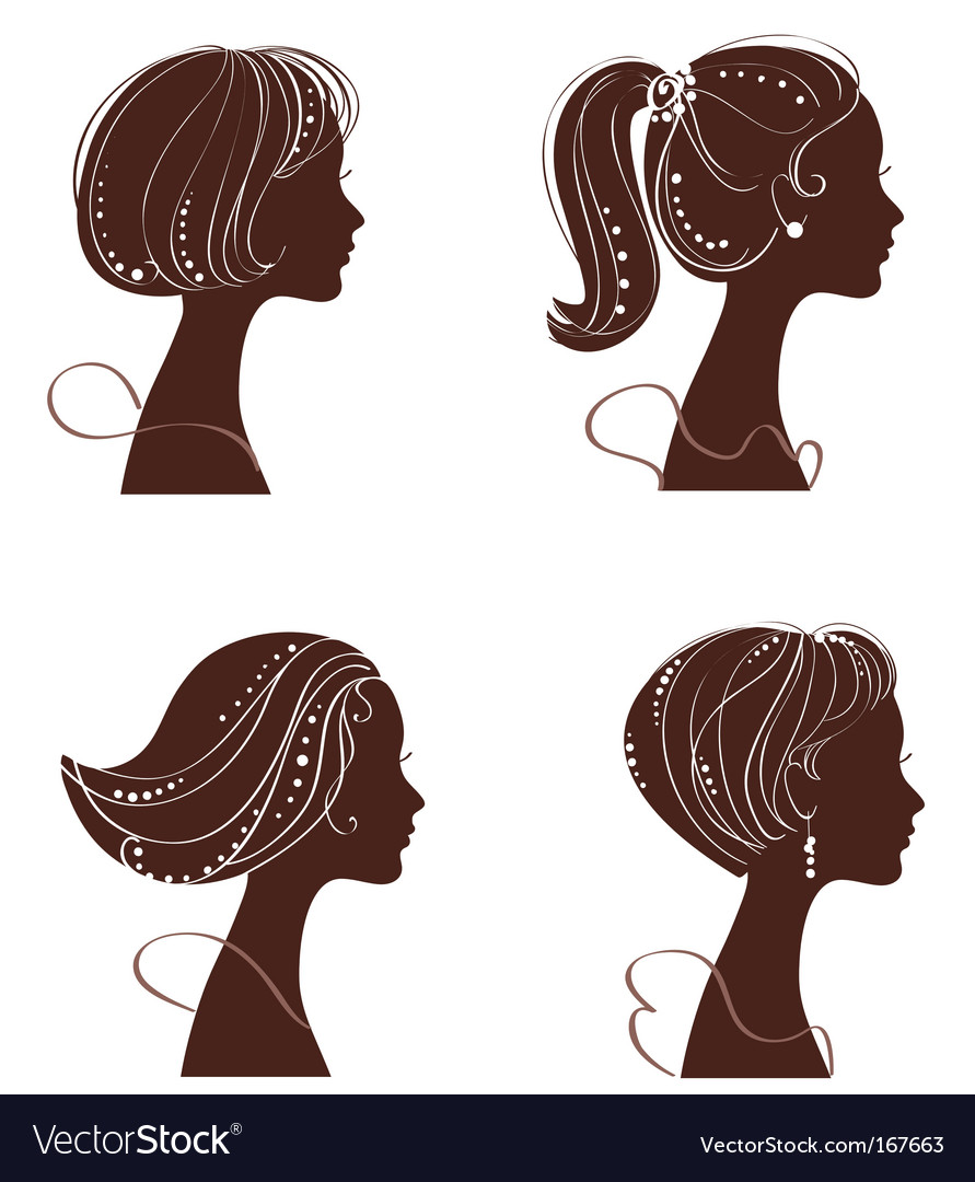 Beautiful women vector | Price: 1 Credit (USD $1)