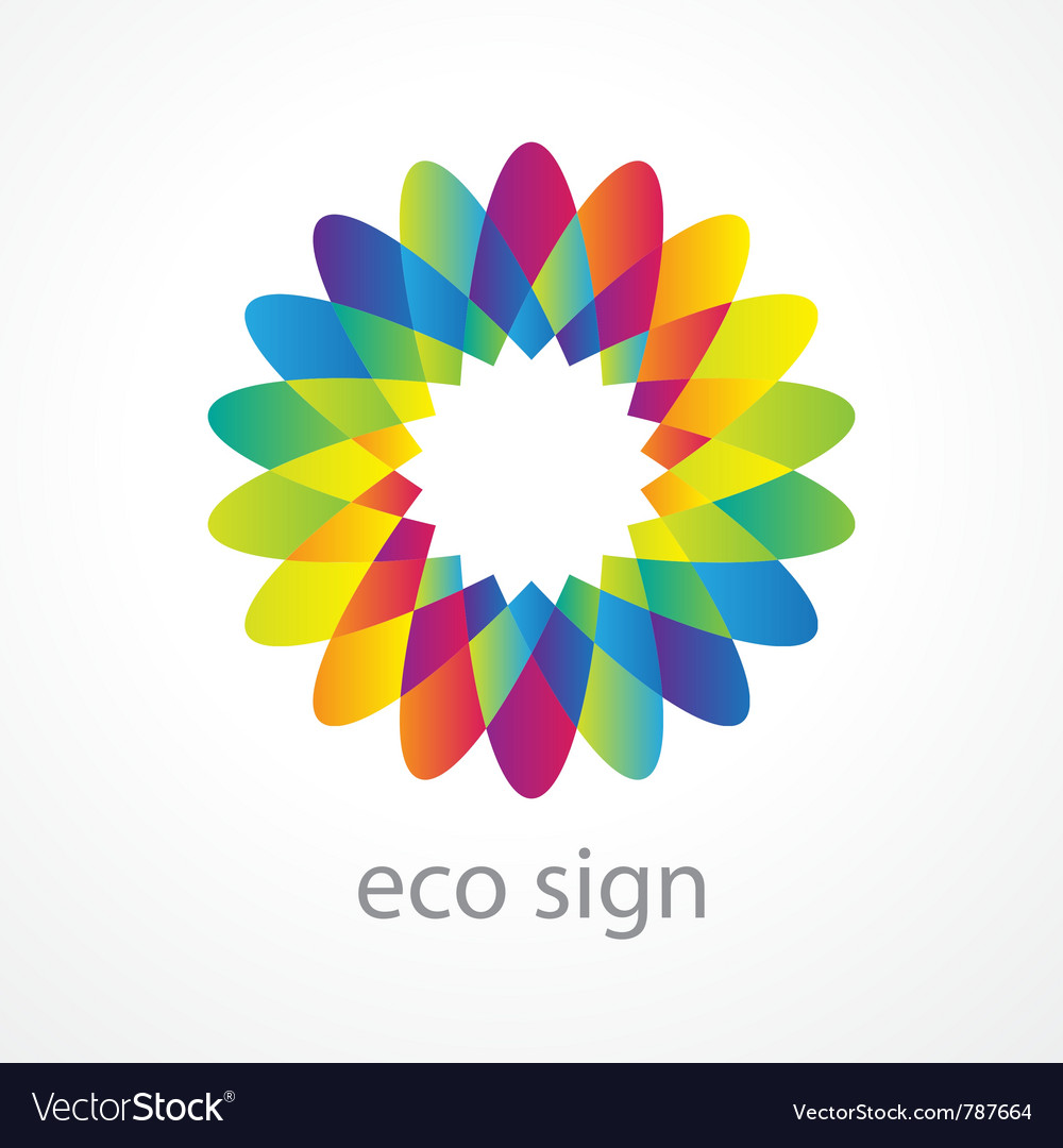 Environment flower vector | Price: 1 Credit (USD $1)
