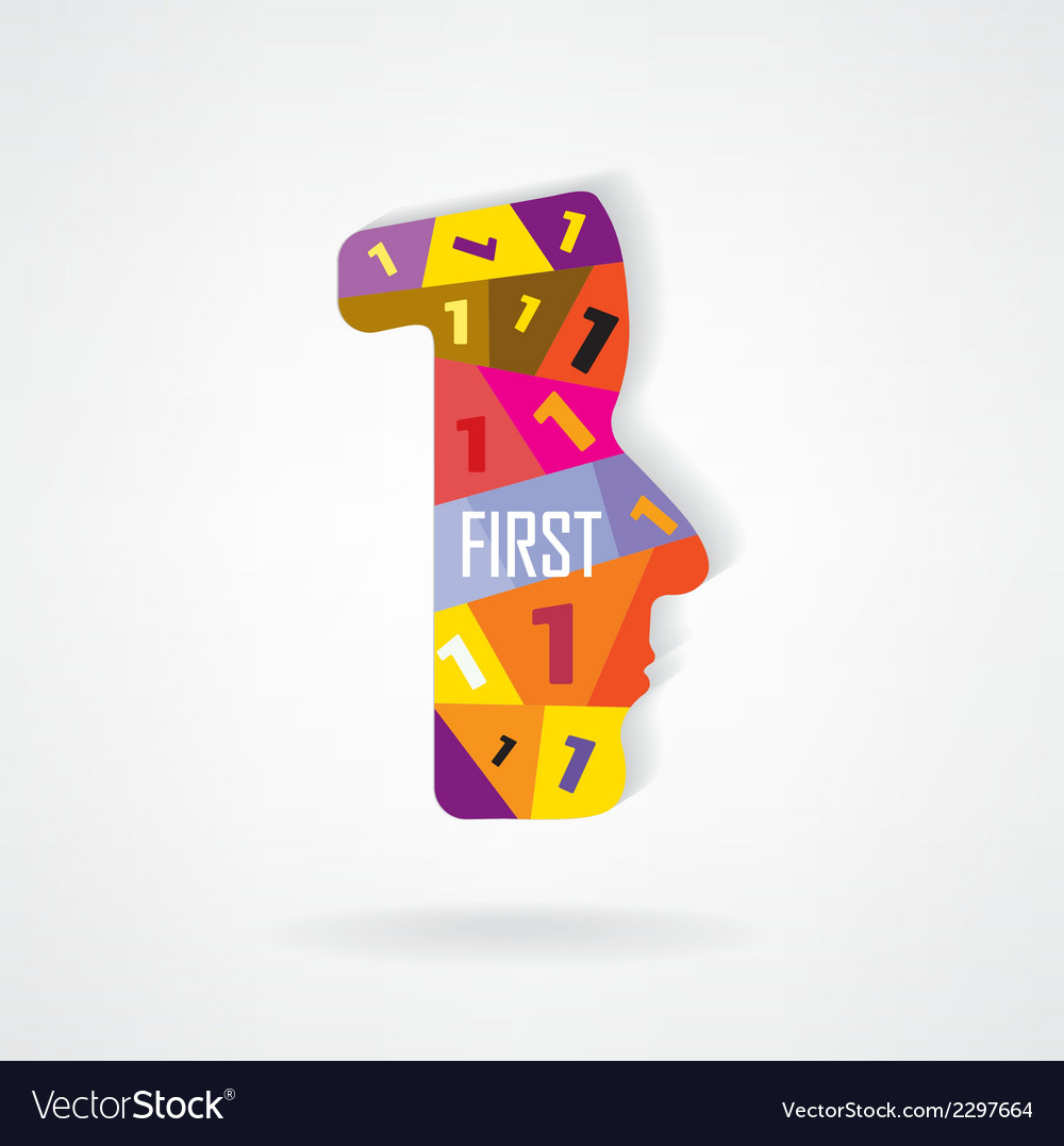 First sign vector | Price: 1 Credit (USD $1)