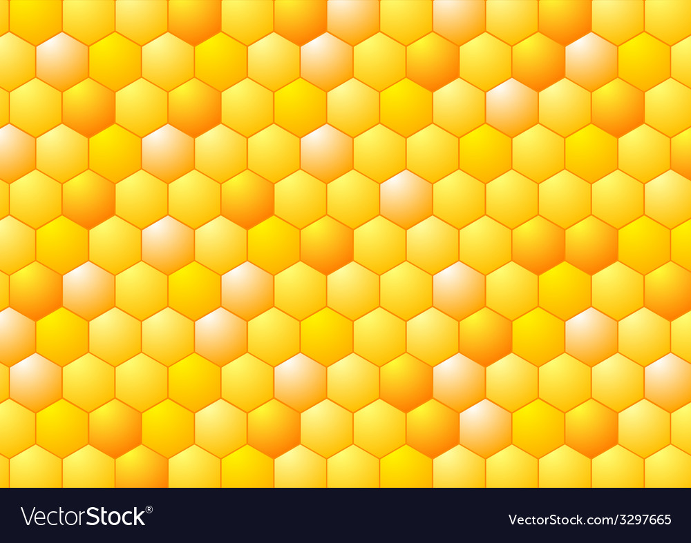 Abstract honeycombs  tech geometric design vector | Price: 1 Credit (USD $1)