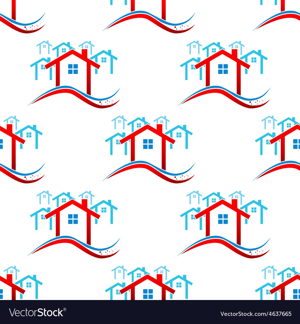 Downtown pattern vector | Price: 1 Credit (USD $1)