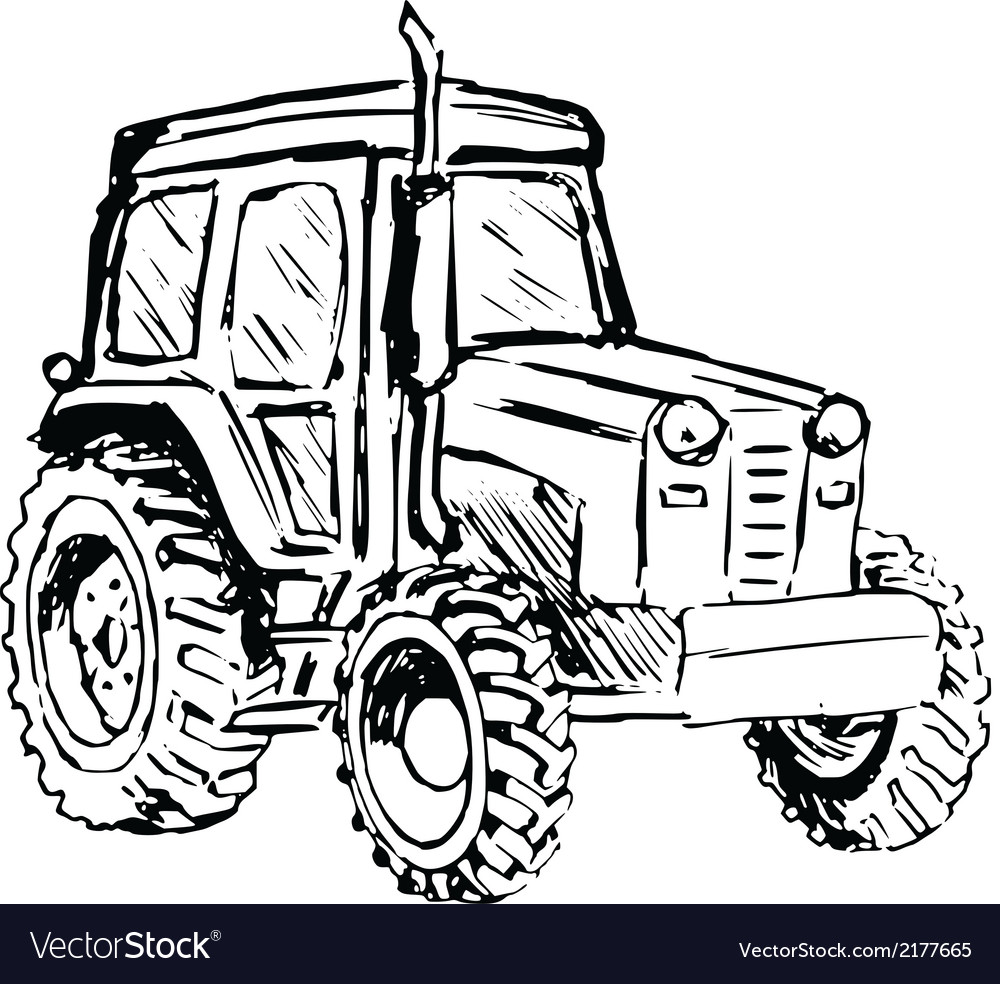 Tractor vector | Price: 1 Credit (USD $1)