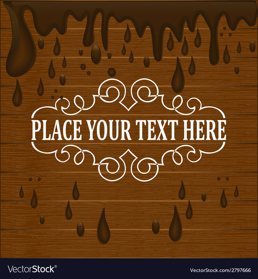 Chocolate drops background vector | Price: 1 Credit (USD $1)