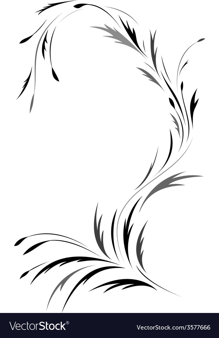 Floral tatto design vector | Price: 1 Credit (USD $1)