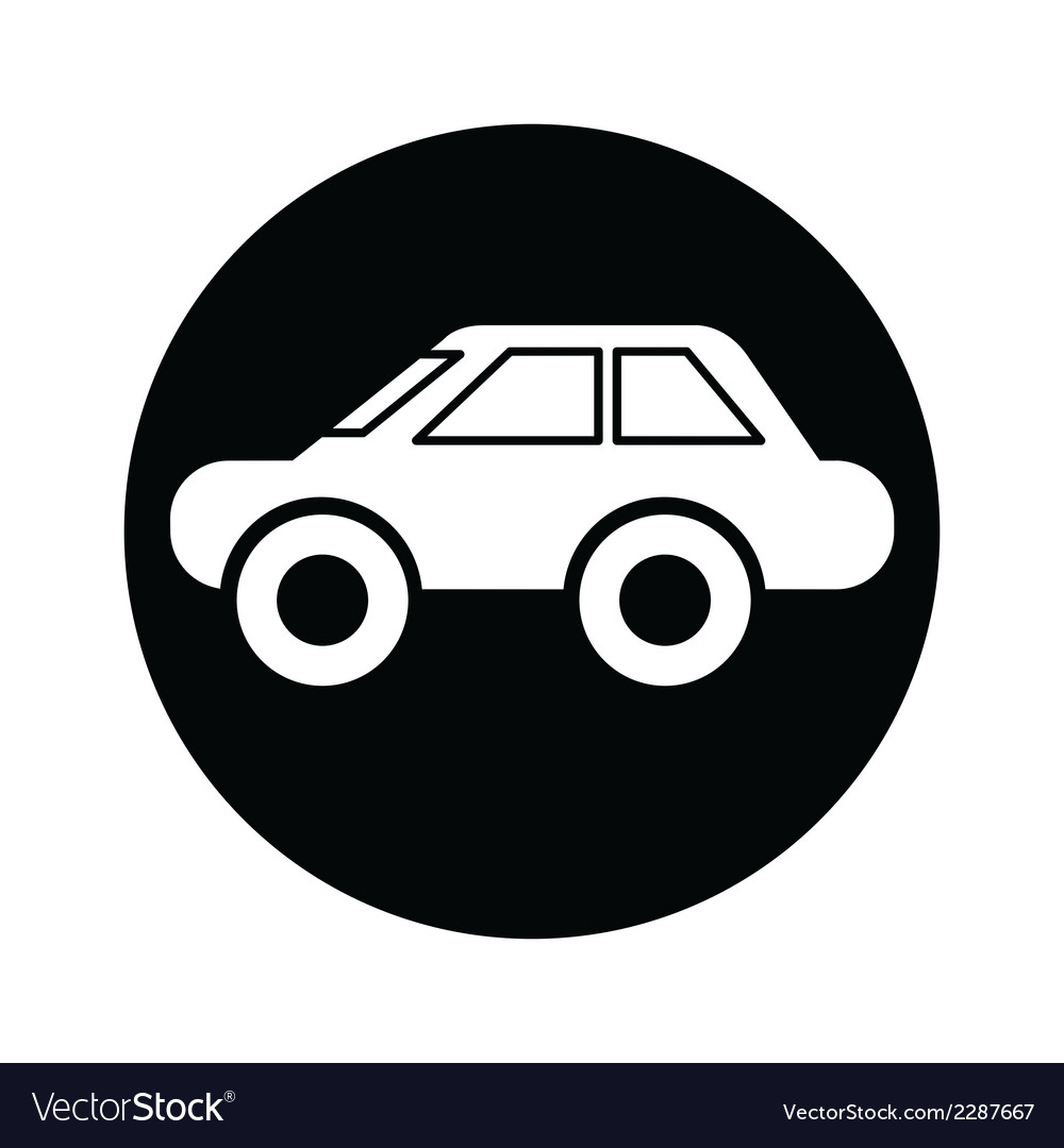 Car symbol icon vector | Price: 1 Credit (USD $1)