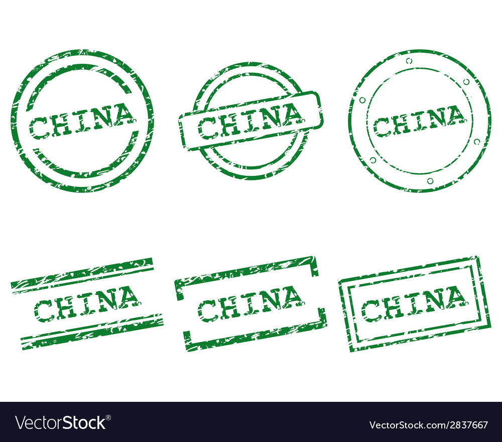 China stamps vector | Price: 1 Credit (USD $1)
