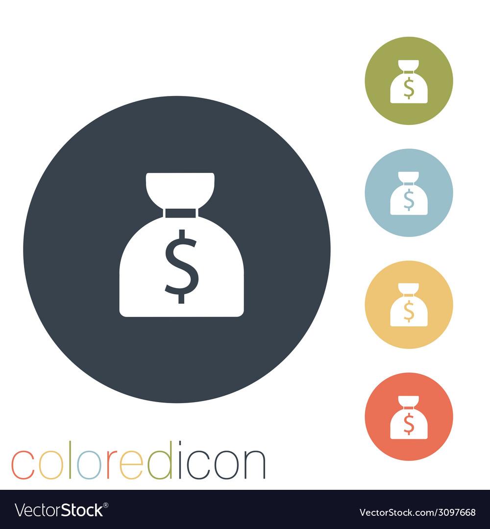 Bag of money vector | Price: 1 Credit (USD $1)