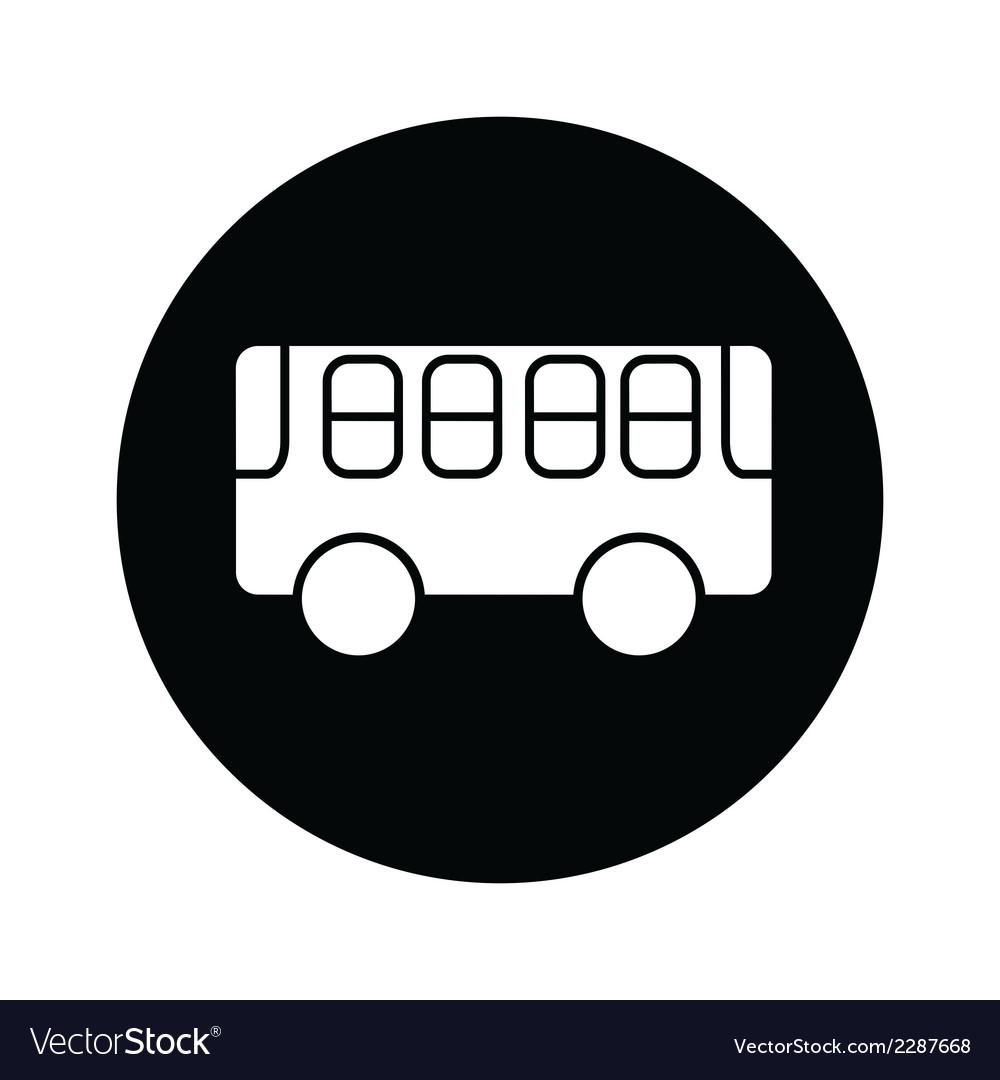 Bus symbol icon vector | Price: 1 Credit (USD $1)
