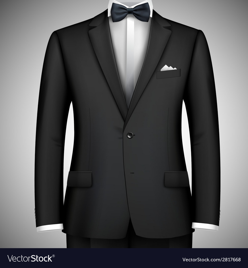 Businessman suit vector | Price: 1 Credit (USD $1)