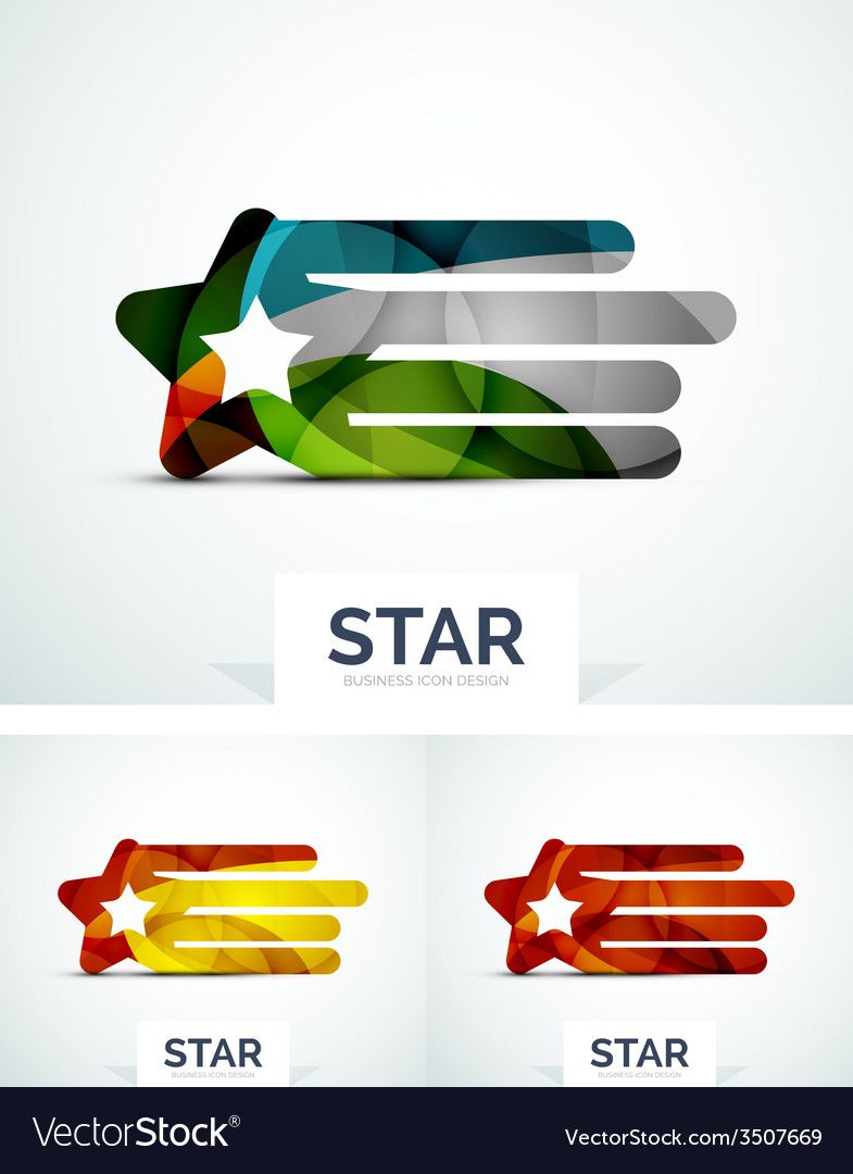 Abstract colorful logo design vector   Price: 1 Credit (USD $1)