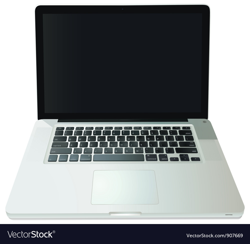 Notebook computer vector | Price: 1 Credit (USD $1)