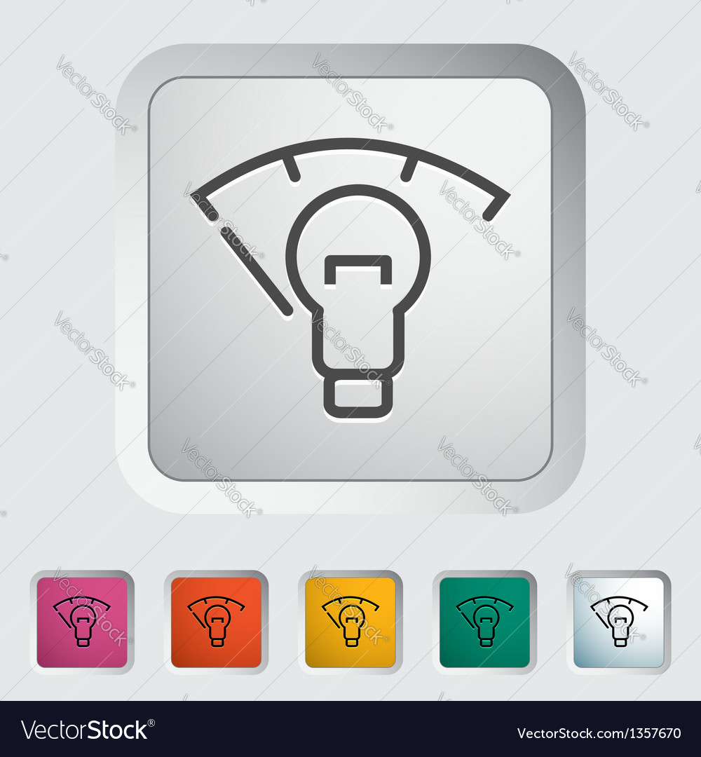 Car panel illumination vector | Price: 1 Credit (USD $1)