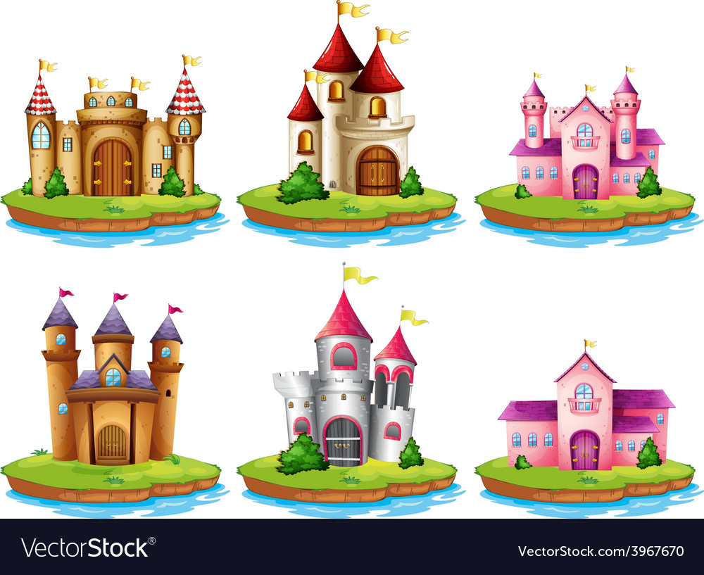 Castles vector   Price: 3 Credit (USD $3)