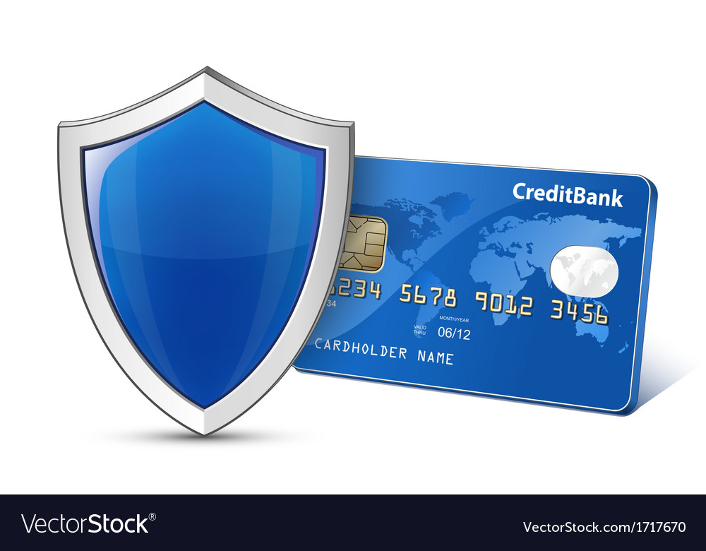 Secure payment concept vector | Price: 1 Credit (USD $1)
