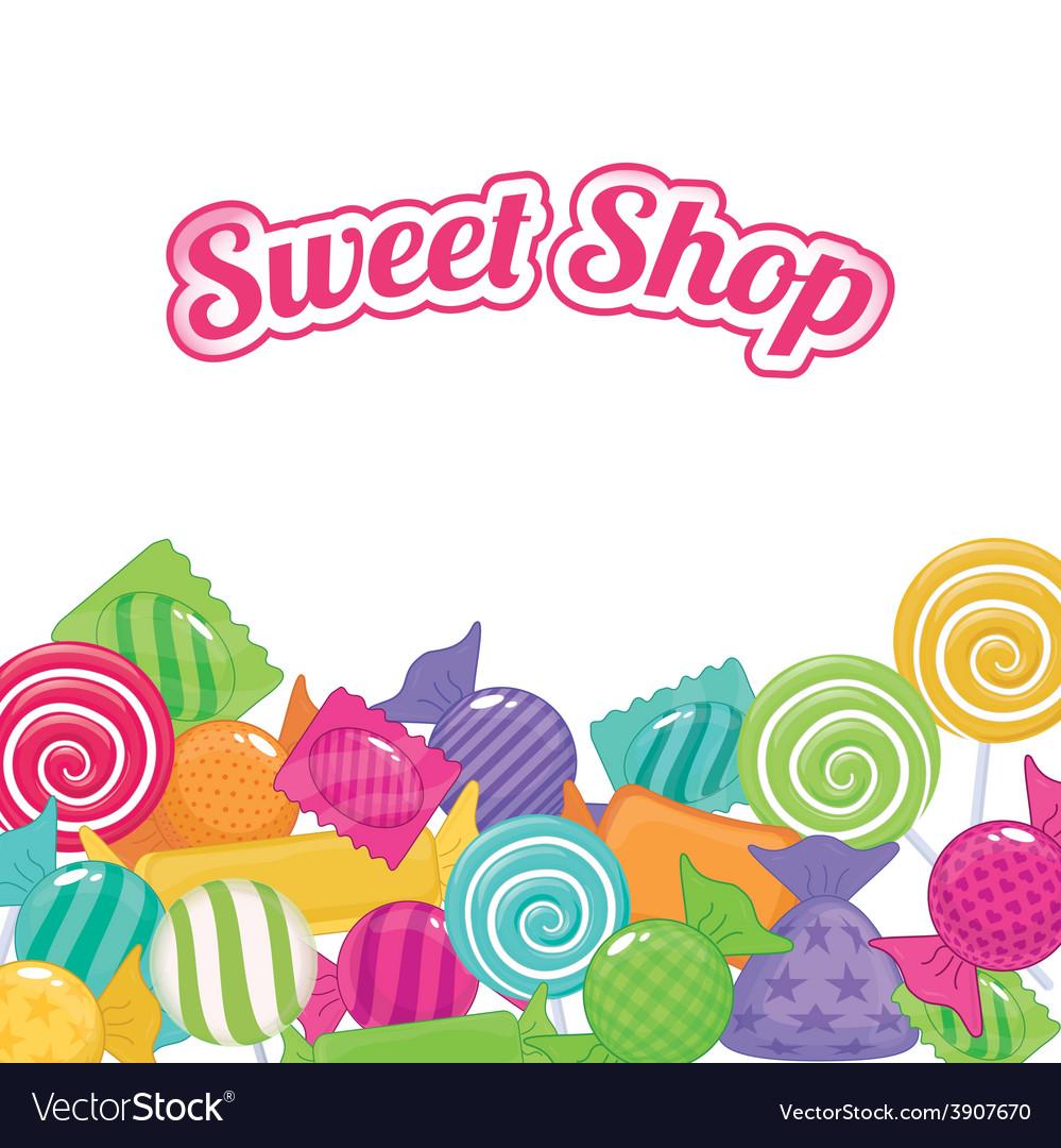 Sweet shop vector | Price: 1 Credit (USD $1)