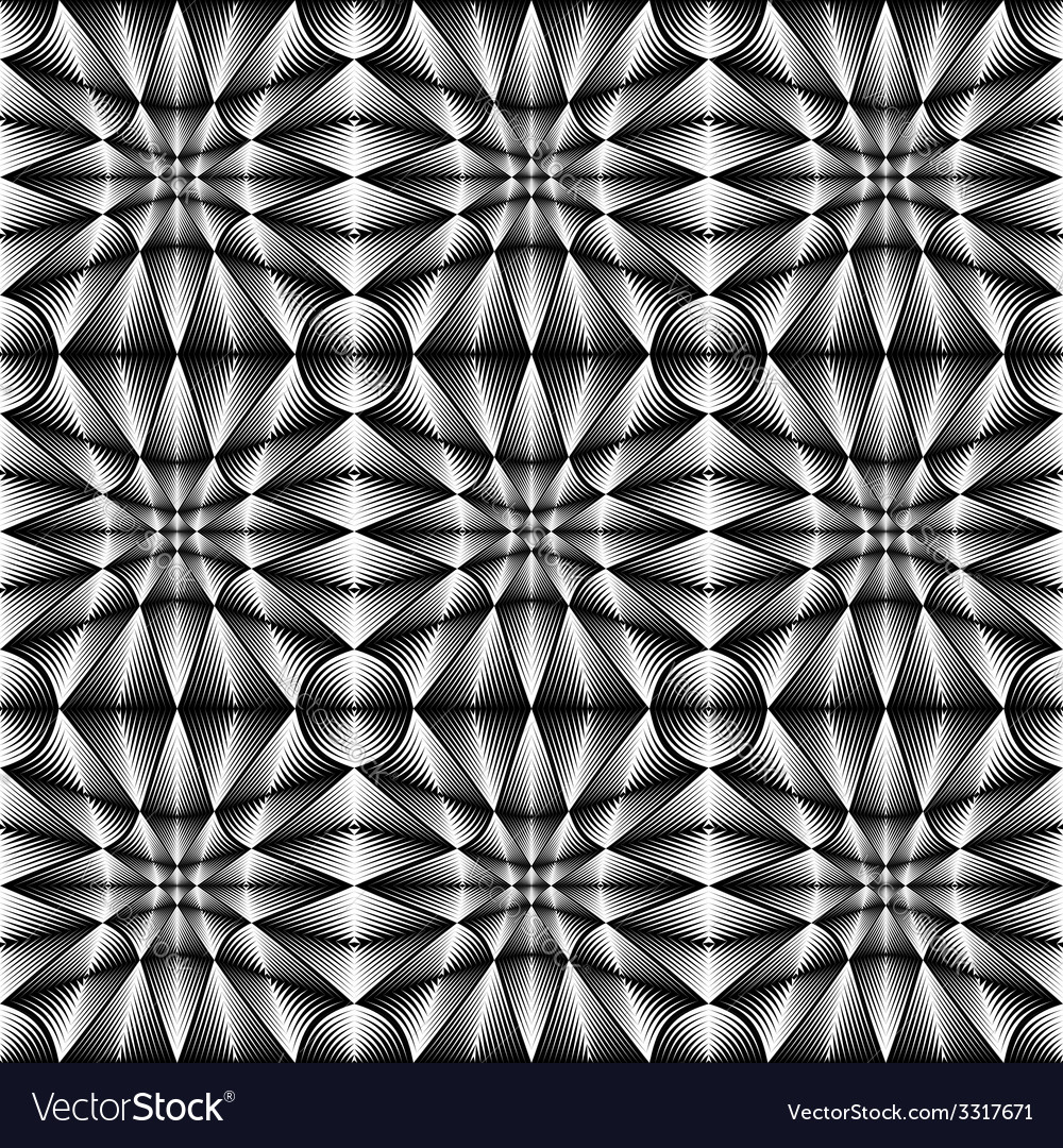 Design seamless geometric trellised pattern vector | Price: 1 Credit (USD $1)